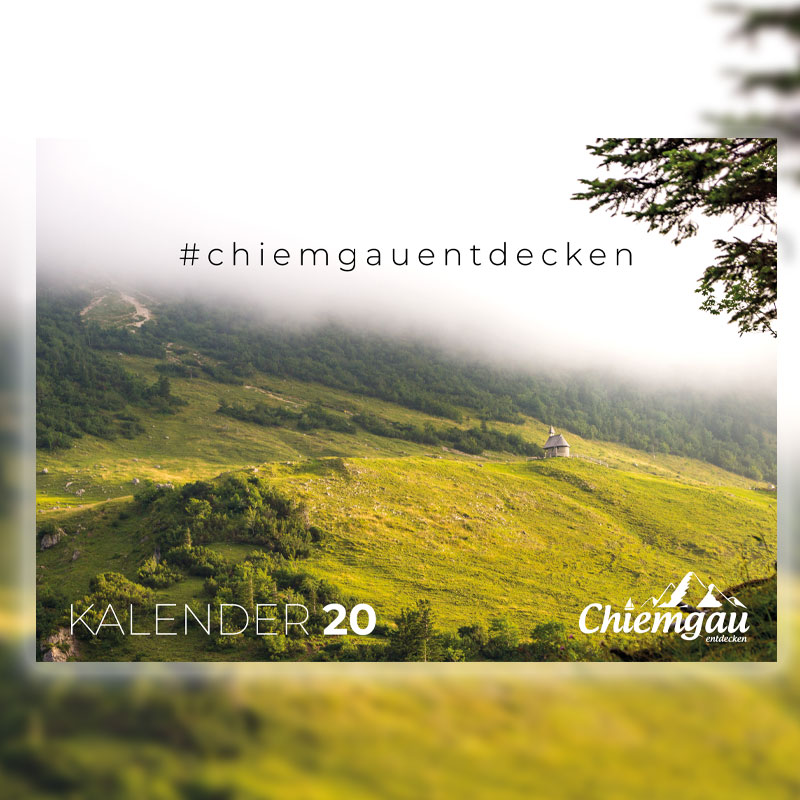 CHIEMGAU KALENDER 2020 - DIN A2 2