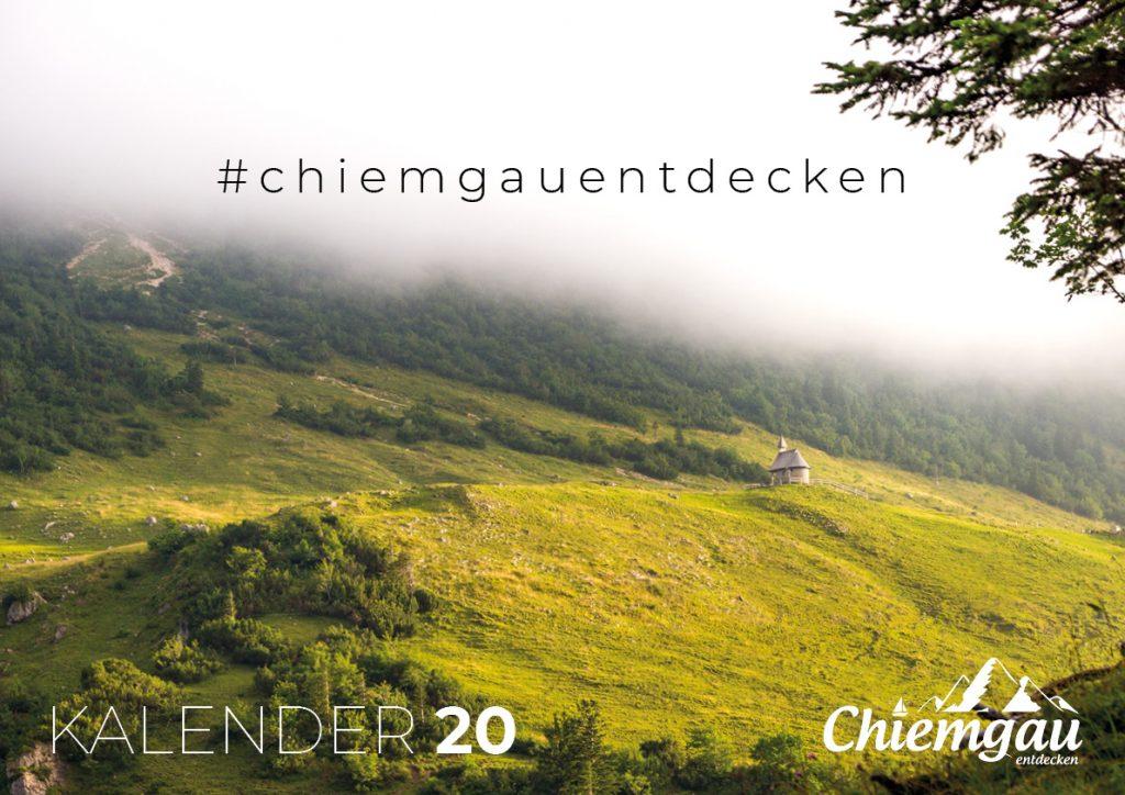CHIEMGAU KALENDER 2020 - DIN A2 3