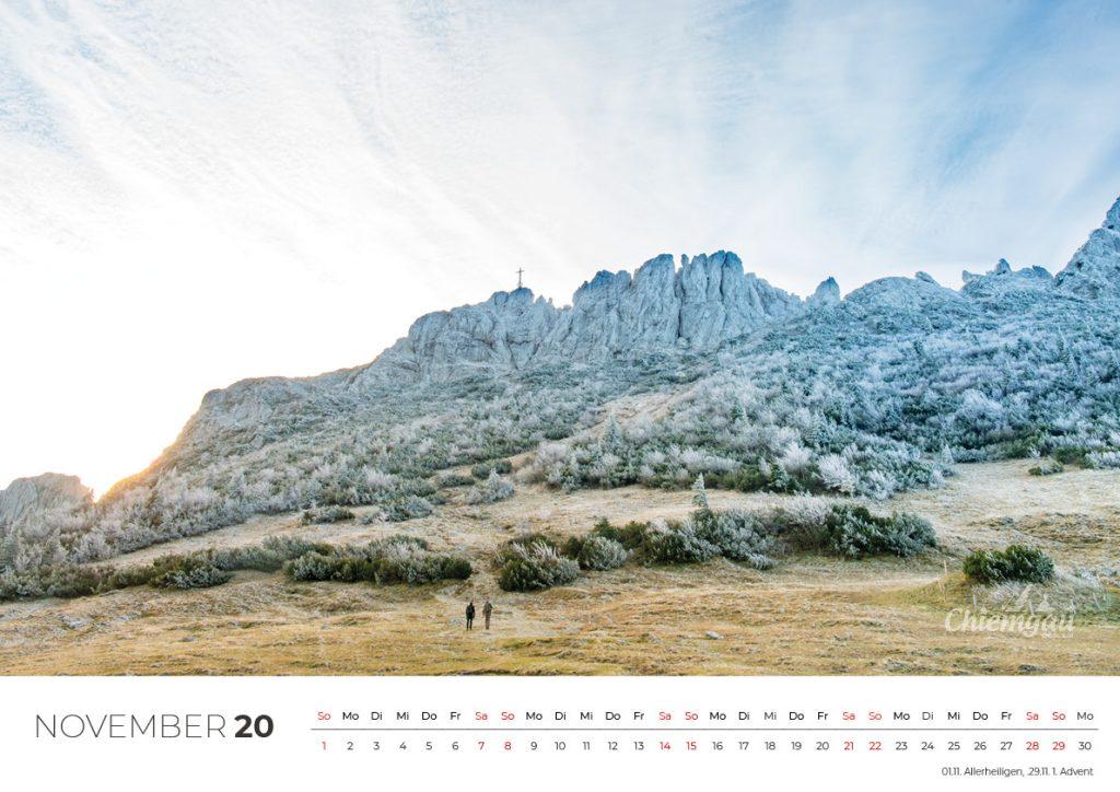 CHIEMGAU KALENDER 2020 - DIN A2 14