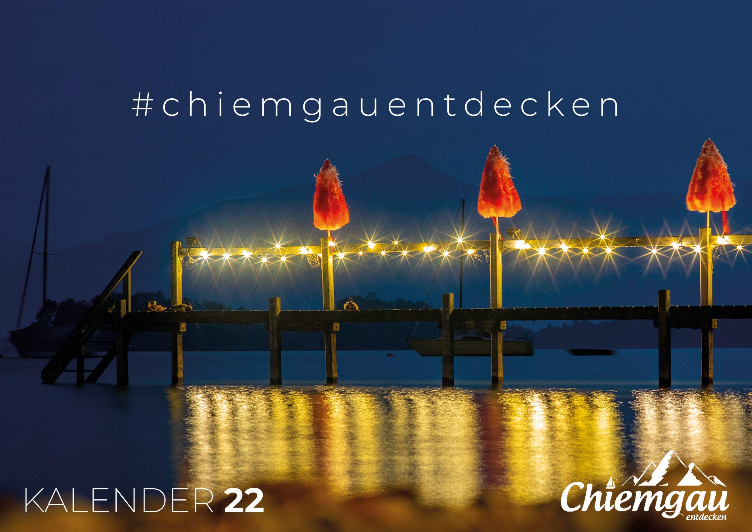 CHIEMGAU KALENDER 2022 - DIN A2 1