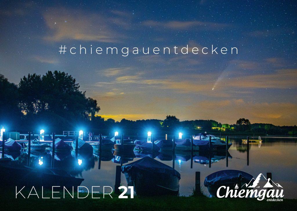 CHIEMGAU KALENDER 2021 - DIN A2 4