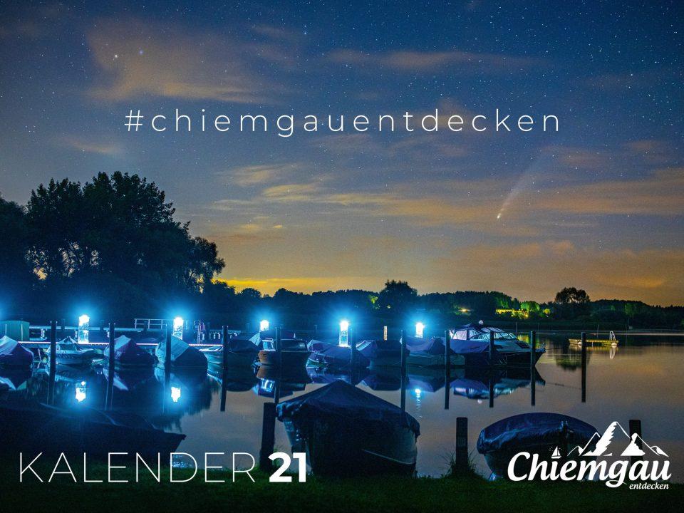 Regionale Verkaufsstellen für den Chiemgau Kalender 2021 2