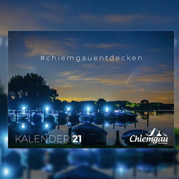 CHIEMGAU KALENDER 2021 - DIN A4 17